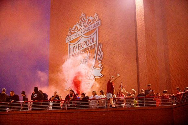 Football – Liverpool Supporters Celebrate Premier League Triumph