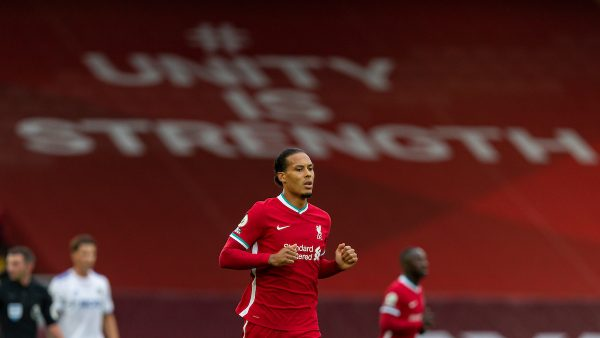 Virgil van Dijk - Unity is strength (Pic by David Rawcliffe/Propaganda)