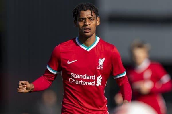 Football – U18 Premier League – Liverpool FC v Manchester City FC