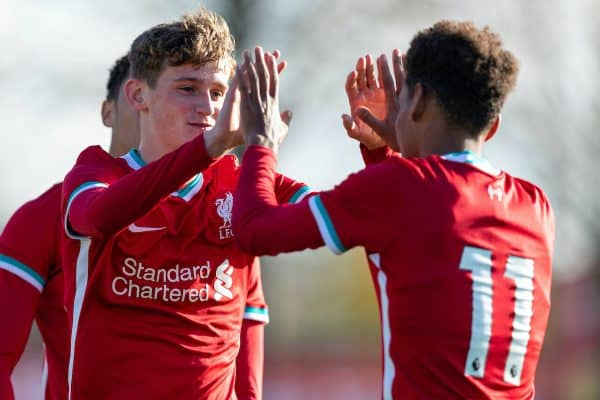 Football – U18 Premier League – Liverpool FC v Newcastle United FC