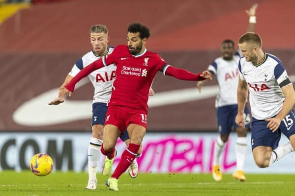 Football – FA Premier League – Liverpool FC v Tottenham Hotspur FC
