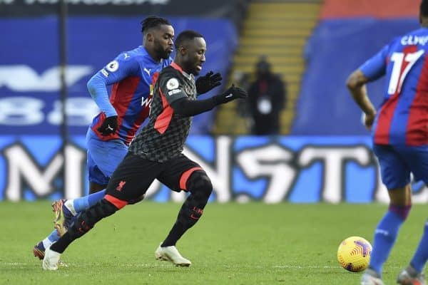 LONDON, ENGLAND - Saturday, December 19, 2020: Liverpool's Naby Keita during the FA Premier League match between Crystal Palace FC and Liverpool FC at Selhurst Park. (Pic by David Rawcliffe/Propaganda)