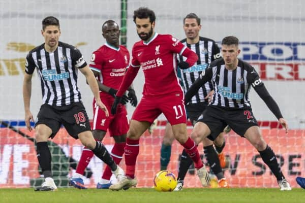 Football – FA Premier League – Newcastle United FC v Liverpool FC