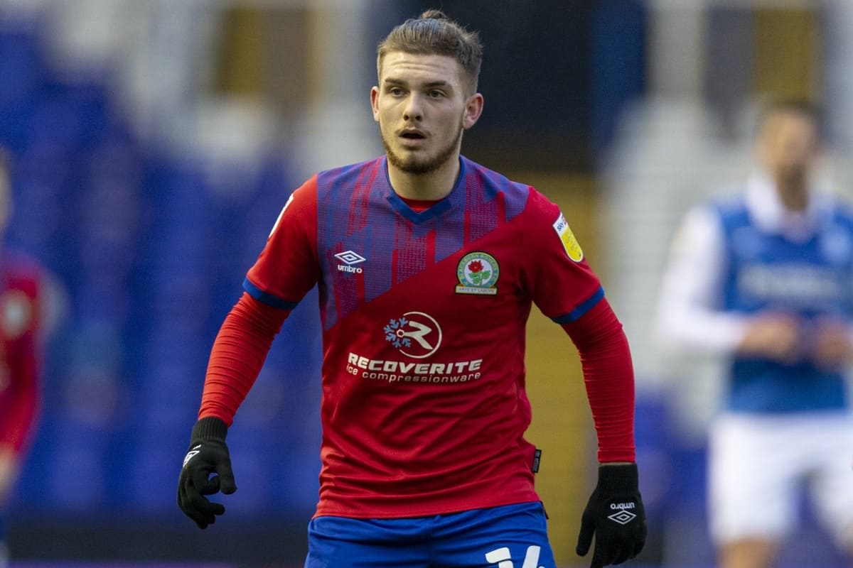BIRMINGHAM, ENGLAND - Saturday, January 2, 2021: Blackburn Rovers' Harvey Elliott during the Football League Championship match between Birmingham City FC and Blackburn Rovers FC at St Andrew's. (Pic by David Rawcliffe/Propaganda)