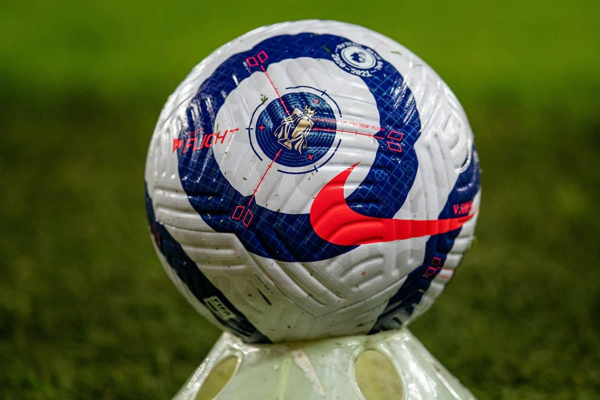 Matchball ball Premier League ball