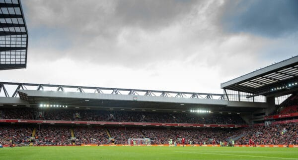 Anfield, general matchday, Anfield Road End (Pic by David Rawcliffe/Propaganda)