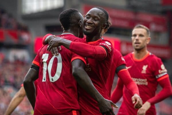 LIVERPOOL, ENGLAND - Saturday 21st. Liverpool won 2-0.  (Image by David Rawcliffe / Propaganda)