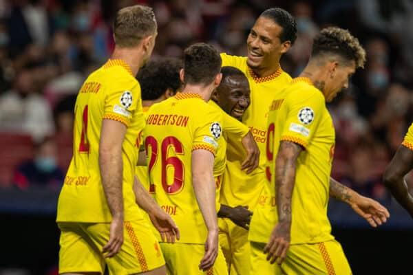 Football – UEFA Champions League – Group B – MD3 – Club Atlético de Madrid v Liverpool FC