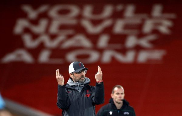 2EEDFNY File photo dated 01-12-2020 of Liverpool manager Jurgen Klopp. Issue date: Tuesday February 16, 2021.
