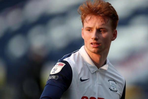 2F00KGH Deepdale Stadium, Preston, Lancashire, UK. 6th Mar, 2021. English Football League Championship Football, Preston North End versus Bournemouth; Sepp van den Berg of Preston North End Credit: Action Plus Sports/Alamy Live News