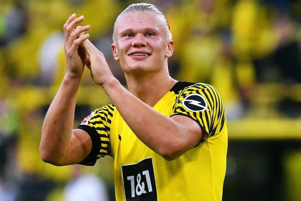 Dortmund's Erling Haaland