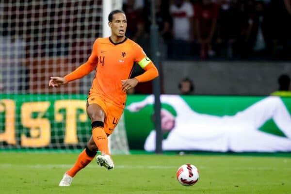 Virgil van Dijk Netherlands (Photo by Broer van den Boom/Orange Pictures)