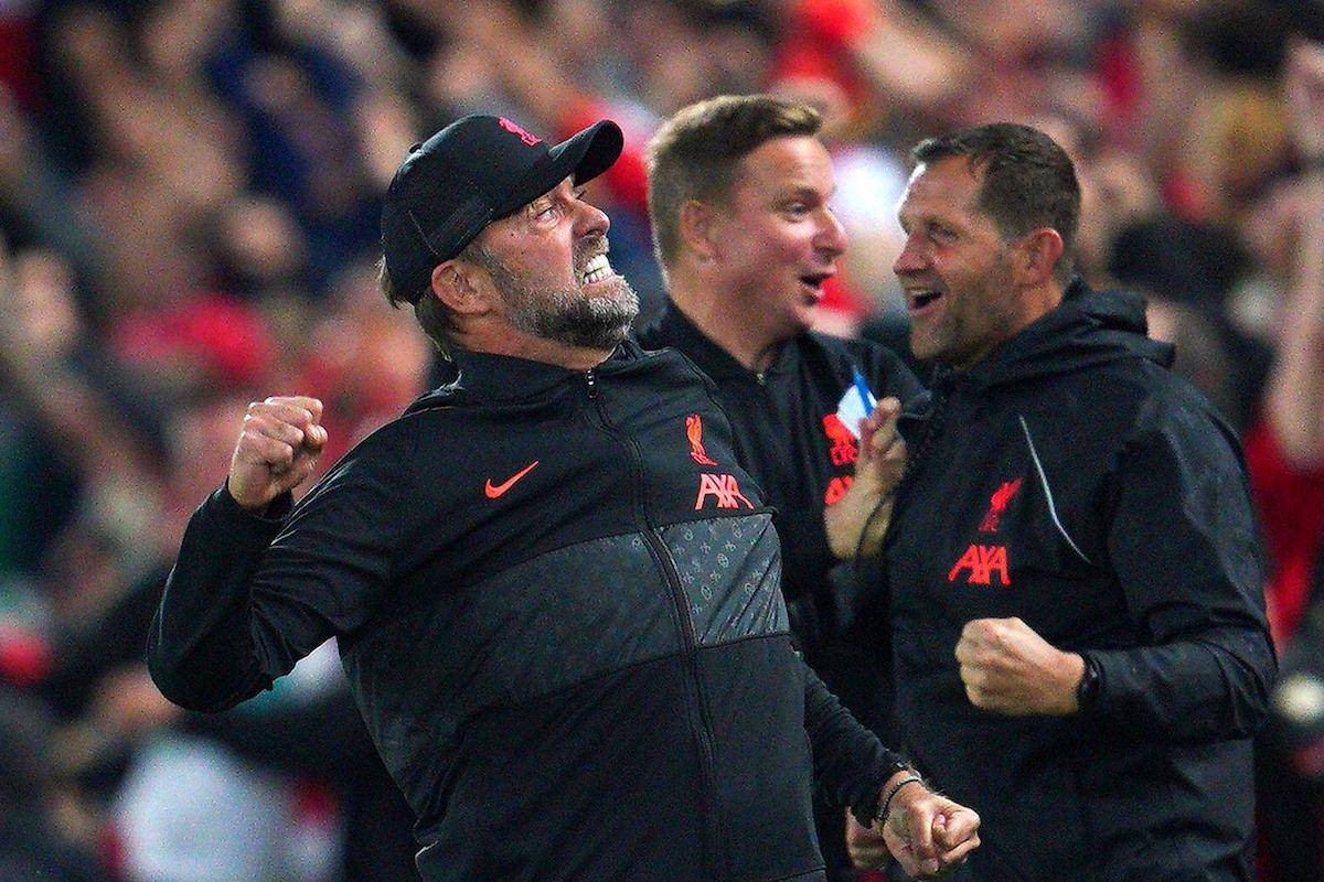 Liverpool manager Jurgen Klopp celebrates (Image: PA Images / Alamy Stock Photo)