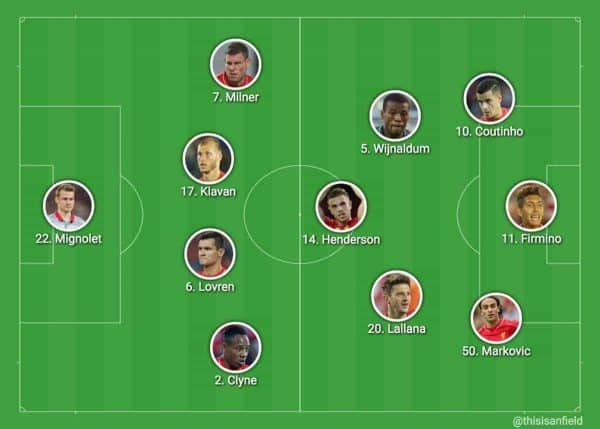 4-3-3 without Mane