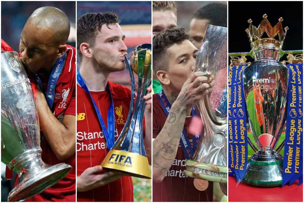 Liverpool quartet of trophies sets yet another record in English football -  Liverpool FC - This Is Anfield