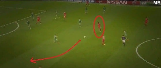 5 Pass Bent into Path of Moreno