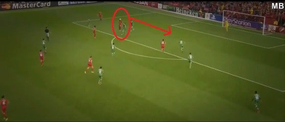 6 Headed Pass into Path of Lallana