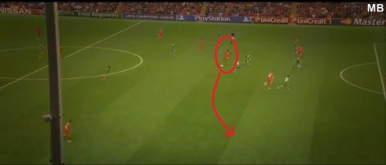 8 MotG Pass Wide to Manquillo