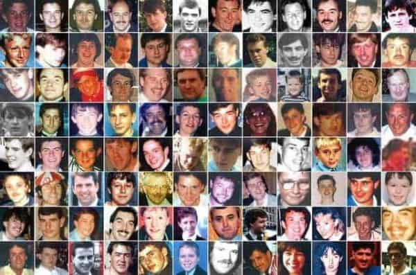 The 96 victims of the Hillsborough disaster (PA Images)