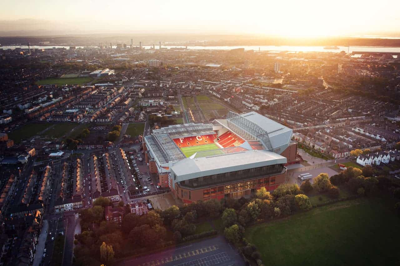 Anfield Road Stand vision (Liverpool FC/PA handout)