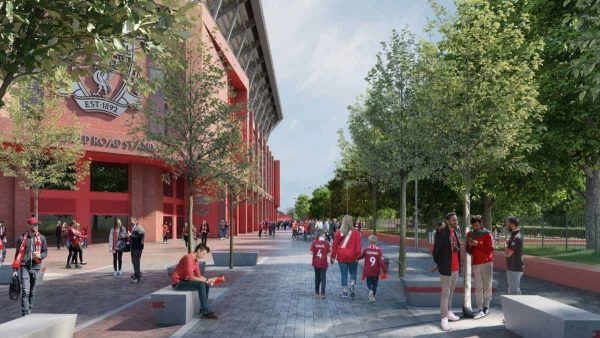 Anfield Road End, new render 2020