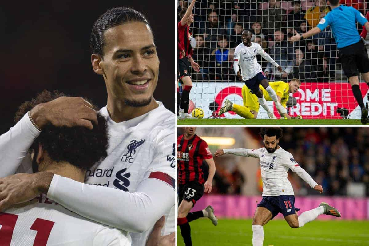 The best photos as Liverpool cruise past Bournemouth