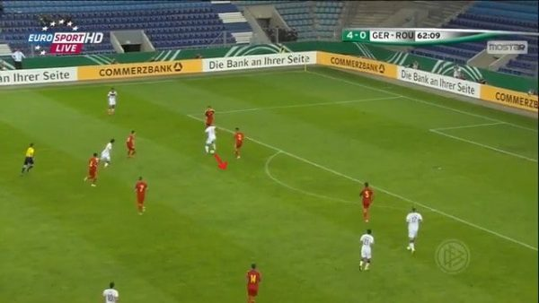 Backheel vs Romania