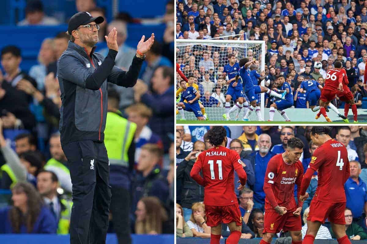 The best photos as Liverpool hold on at Stamford Bridge despite late Chelsea charge