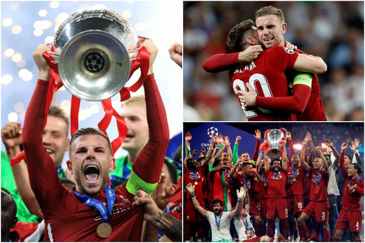 The best photos as Liverpool beat Tottenham to win the Champions League