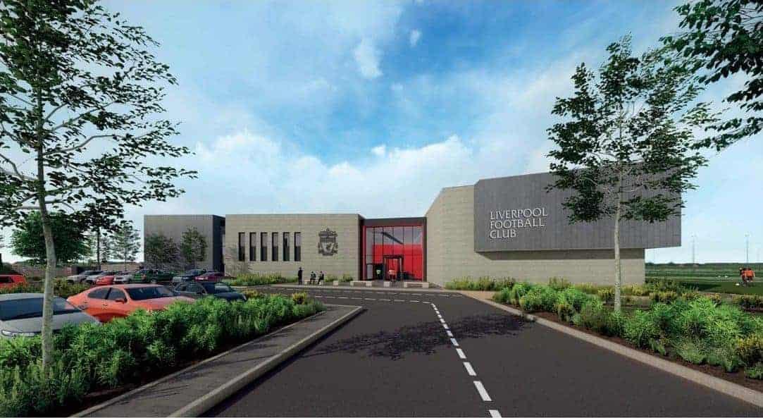 New LFC training ground, Kirkby