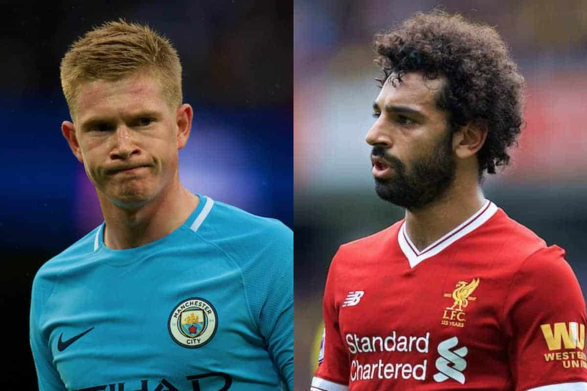 Salah or De Bruyne for Player of the Year? - The view from ...