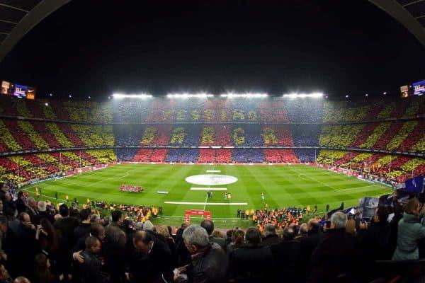 29.11.2010, Camp Nou, Barcelona, ESP, Primera Division, FC Barcelona vs Real Madrid, im Bild Barcelona's stadium Camp Nou during la liga match on november 29th 2010. EXPA Pictures © 2010, PhotoCredit: EXPA/ Alterphotos/ Gregorio +++++ ATTENTION - OUT OF SPAIN / ESP +++++