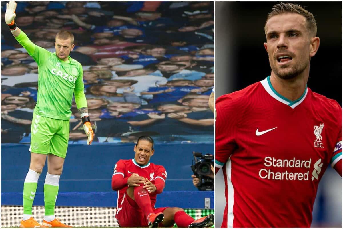 Jordan Pickford sends apologies for nasty Virgil van Dijk challenge -  Liverpool FC - This Is Anfield