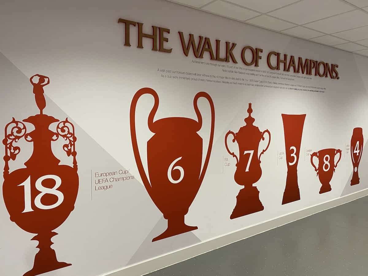 liverpool fc s champions wall dilemma and the possible solution liverpool fc this is anfield liverpool fc s champions wall dilemma