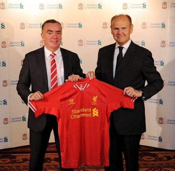 Ian Ayre and Sir John Peace