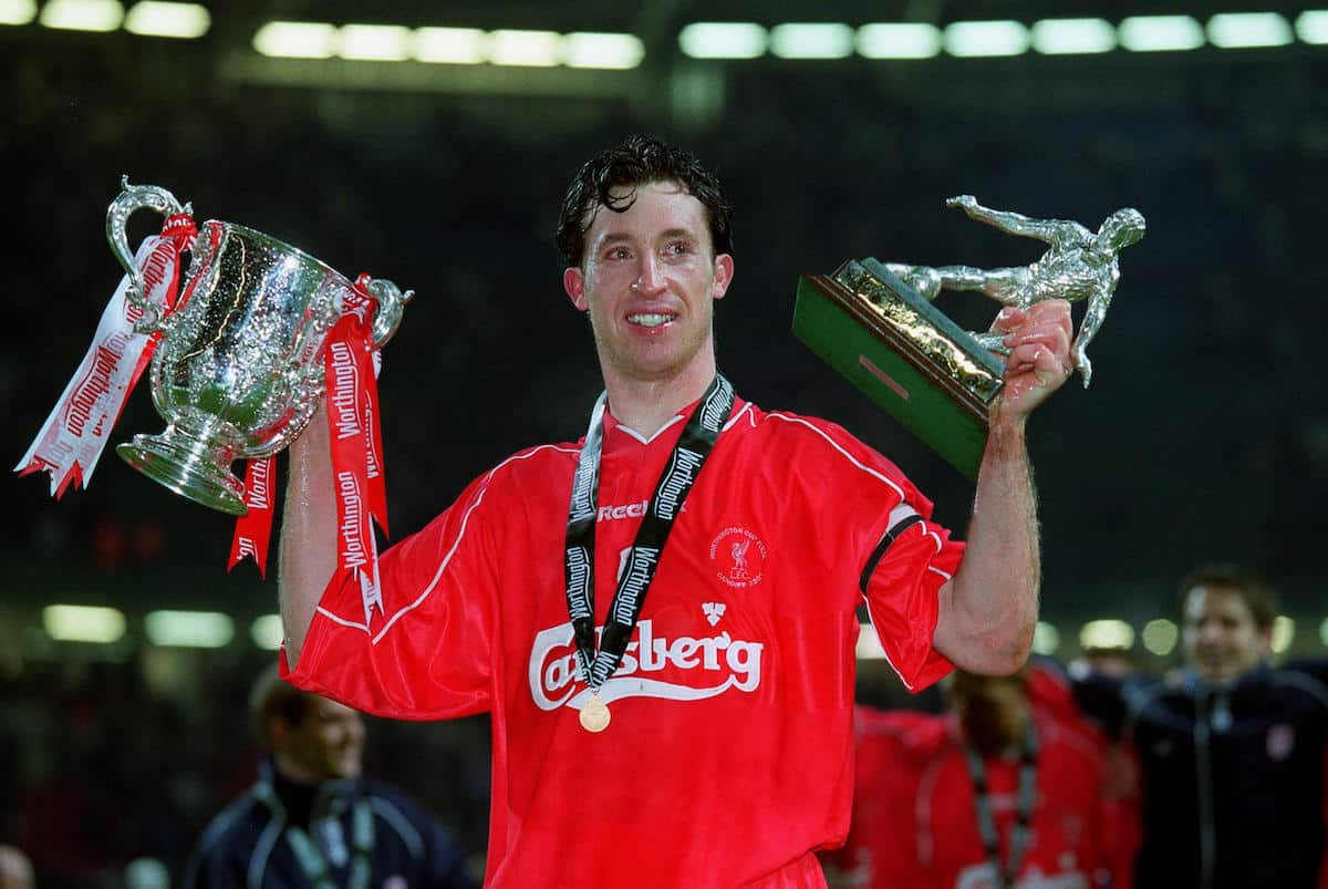 Robbie Fowler, MOTM, Worthington Cup Final, Cardiff, 2001 (Allstar Picture Library Ltd / Alamy Stock Photo)