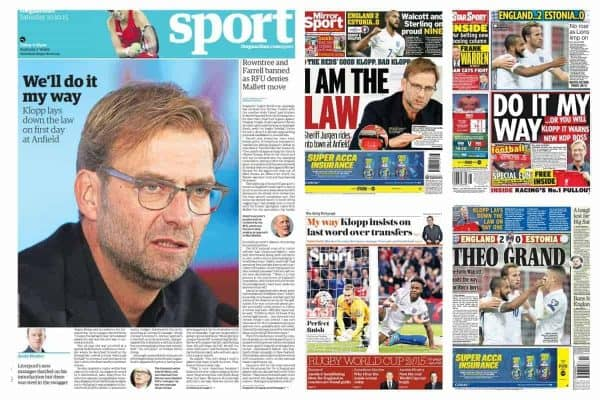 Klopp Collage