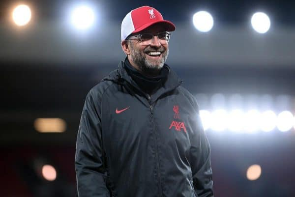 Jurgen Klopp was pleased with Liverpool's display against Arsenal (Laurence Griffiths/PA)