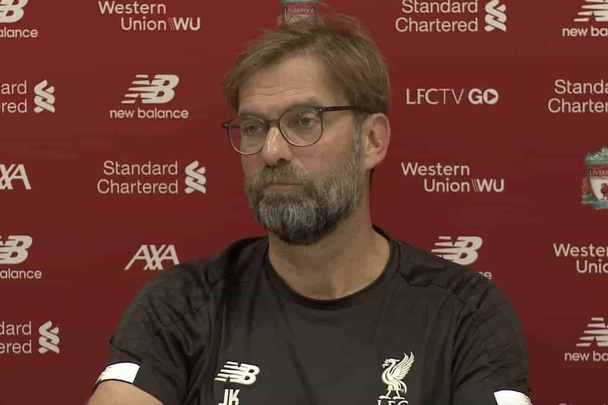 Watch Jurgen Klopp's pre-match press conference – Liverpool vs. Watford
