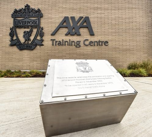 Photos: Liverpool FC officially mark opening of new AXA Training Centre -  Liverpool FC - This Is Anfield