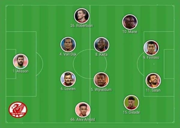 Liverpool 4-2-2-2 Keita