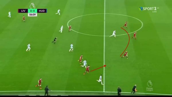 Liverpool Defend Counter-Attack
