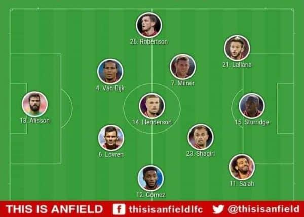 Liverpool tactics huddersfield