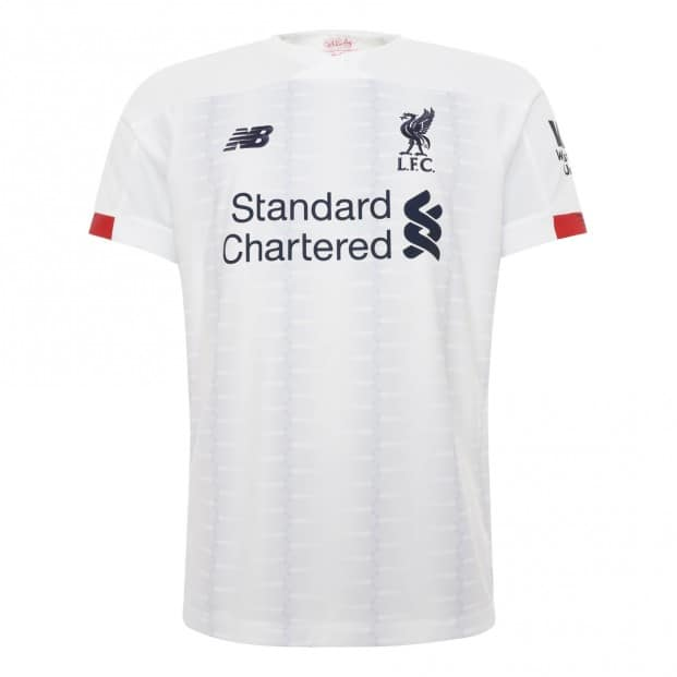 buy online 7123c 53e3f Liverpool FC unveil new white and navy away kit for season ...