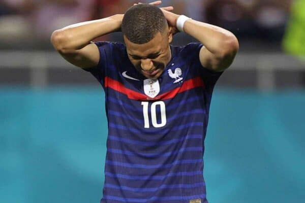 Kylian Mbappe missed the crucial spot-kick as France were eliminated by Switzerland on penalties in the last 16 (Marko Djurica/AP)
