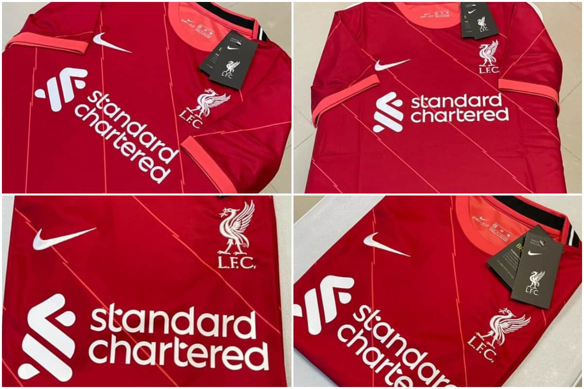 New 'leak' of rumoured Liverpool FC kit for 2021/22 gives closer look -  Liverpool FC - This Is Anfield