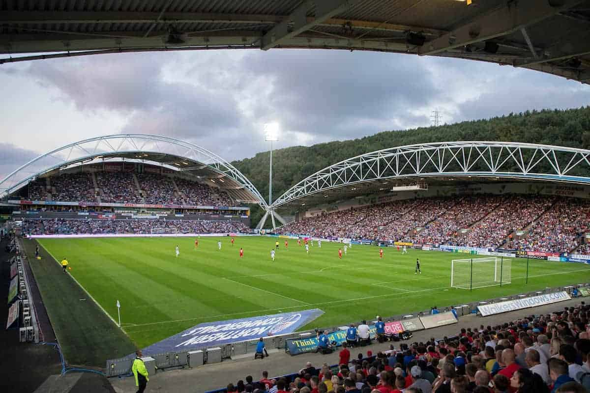 HUDDERSFIELD, ENGLAND - Wednesday, July 20, 2016: A general view of Liverpool against Huddersfield Town during the Shankly Trophy pre-season friendly match at the John Smith's Stadium. (Pic by Paul Greenwood/Propaganda)