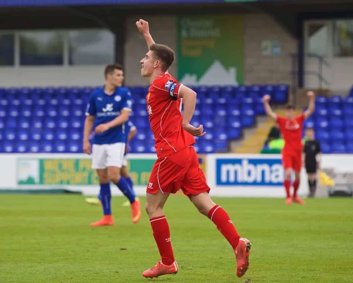 Football - Under 21 FA Premier League - Liverpool FC v Leicester City FC