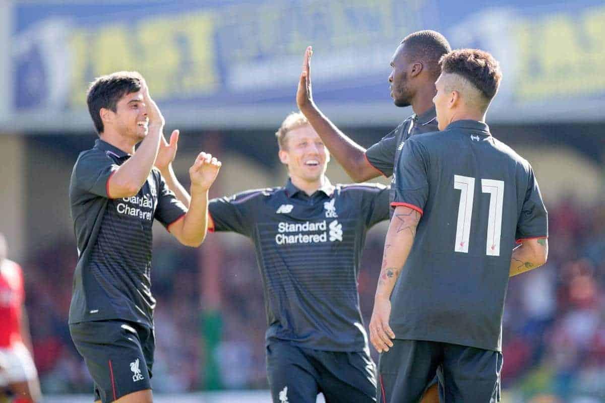 Football - Liverpool FC Preseason Tour 2015 - Swindon Town FC v Liverpool FC