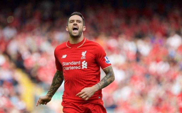 Liverpool's Danny Ings in action against West Ham United during the Premier League match at Anfield. (Pic by David Rawcliffe/Propaganda)